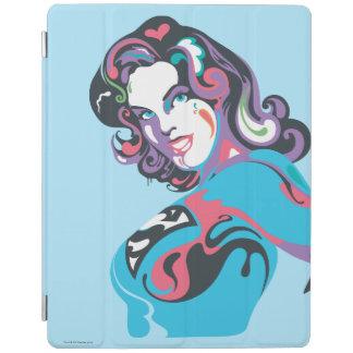 Supergirl Color Splash Pose 1 iPad Cover