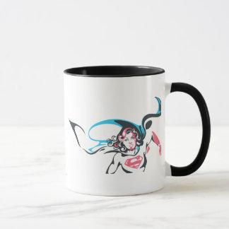 Supergirl Color Splash Pose 2 Mug