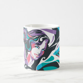 Supergirl Color Splash Swirls 2 Coffee Mug