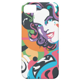 Supergirl Color Splash Swirls 4 Case For The iPhone 5