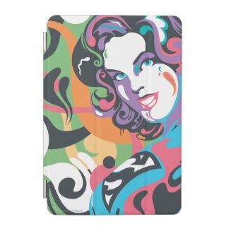Supergirl Color Splash Swirls 4 iPad Mini Cover