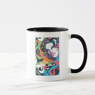 Supergirl Color Splash Swirls 4 Mug