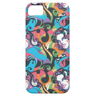 Supergirl Color Splash Swirls Pattern 1 Barely There iPhone 5 Case