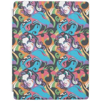 Supergirl Color Splash Swirls Pattern 1 iPad Cover