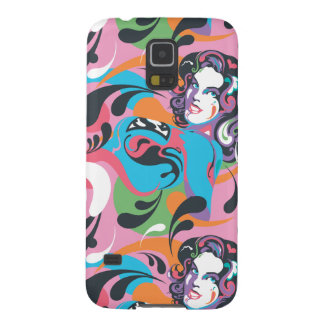 Supergirl Color Splash Swirls Pattern 2 Case For Galaxy S5