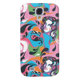 Supergirl Color Splash Swirls Pattern 2 Galaxy S4 Case