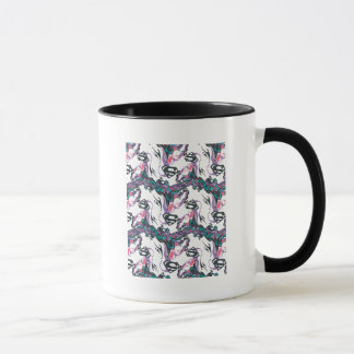 Supergirl Color Splash Swirls Pattern 3 Mug
