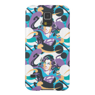 Supergirl Color Splash Swirls Pattern 5 Case For Galaxy S5