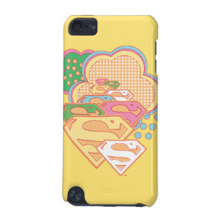 Supergirl Colorful Cloud Logo iPod Touch (5th Generation) Case