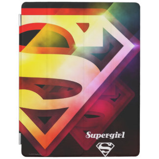 Supergirl Colorful Logo iPad Cover