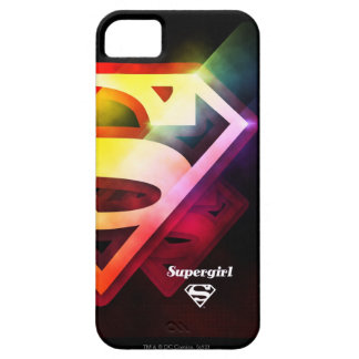 Supergirl Colorful Logo iPhone 5 Case