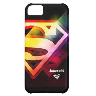 Supergirl Colorful Logo iPhone 5C Case