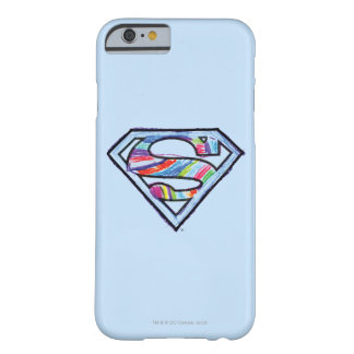 Supergirl Colorful Sketch Logo Barely There iPhone 6 Case