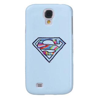 Supergirl Colorful Sketch Logo Galaxy S4 Case