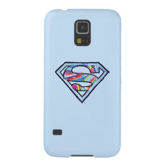 Supergirl Colorful Sketch Logo Galaxy S5 Cases