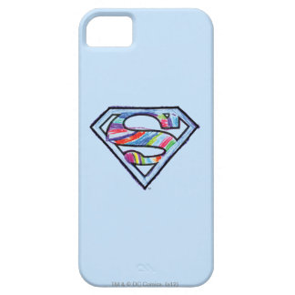 Supergirl Colorful Sketch Logo iPhone 5 Covers