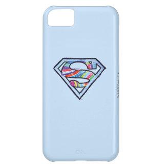 Supergirl Colorful Sketch Logo iPhone 5C Case