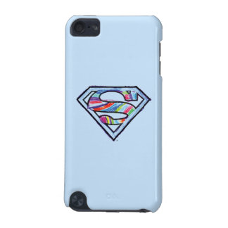 Supergirl Colorful Sketch Logo iPod Touch (5th Generation) Cases