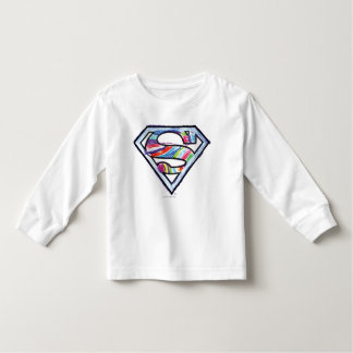 Supergirl Colorful Sketch Logo Toddler T-Shirt