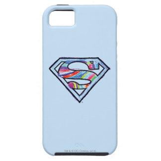 Supergirl Colorful Sketch Logo Tough iPhone 5 Case