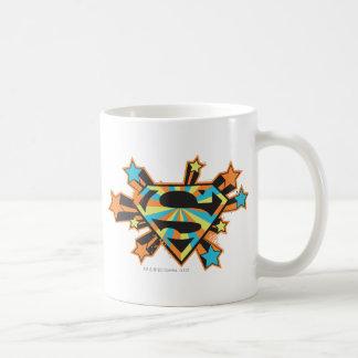 Supergirl Colorful Stars Logo Coffee Mug