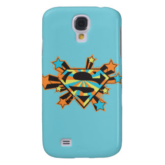 Supergirl Colorful Stars Logo Galaxy S4 Case