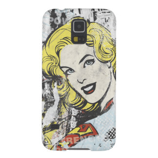 Supergirl Comic Capers 1 Galaxy S5 Case