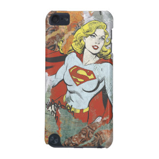 Supergirl Comic Capers 2 iPod Touch (5th Generation) Case