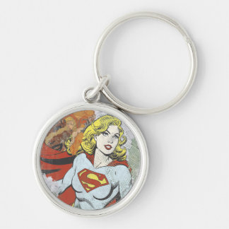 Supergirl Comic Capers 2 Key Ring