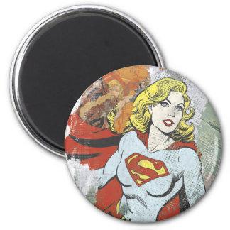 Supergirl Comic Capers 2 Magnet