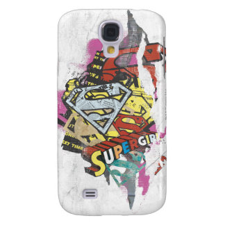 Supergirl Comic Capers 4 Galaxy S4 Case