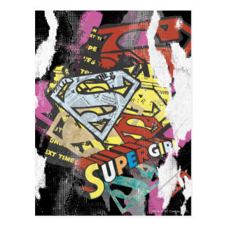 Supergirl Comic Capers 4 Postcard