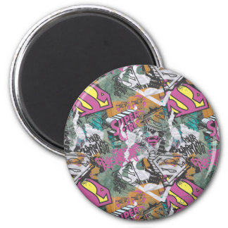 Supergirl Comic Capers Pattern 10 Magnet