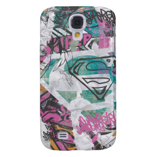 Supergirl Comic Capers Pattern 11 Galaxy S4 Case