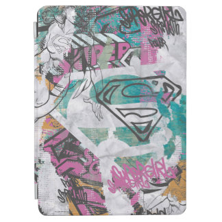 Supergirl Comic Capers Pattern 11 iPad Air Cover
