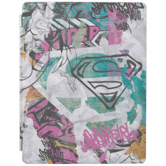 Supergirl Comic Capers Pattern 11 iPad Cover