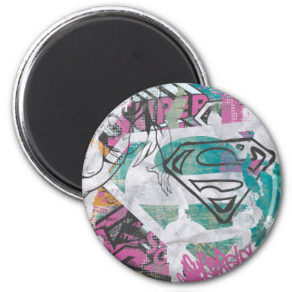 Supergirl Comic Capers Pattern 11 Magnet
