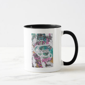 Supergirl Comic Capers Pattern 11 Mug