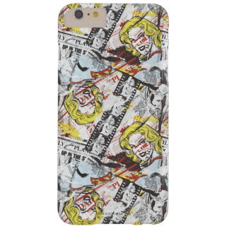 Supergirl Comic Capers Pattern 2 Barely There iPhone 6 Plus Case