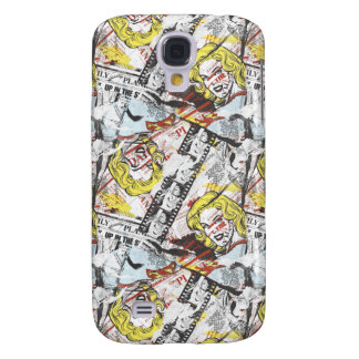 Supergirl Comic Capers Pattern 2 Galaxy S4 Case