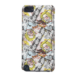 Supergirl Comic Capers Pattern 2 iPod Touch 5G Cases