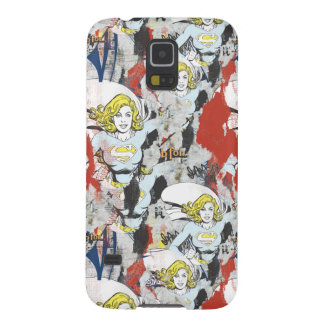 Supergirl Comic Capers Pattern 5 Galaxy S5 Cover