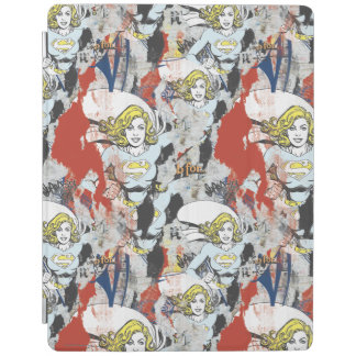 Supergirl Comic Capers Pattern 5 iPad Cover