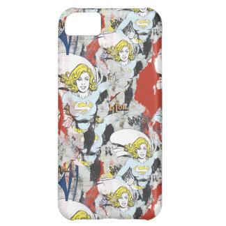 Supergirl Comic Capers Pattern 5 iPhone 5C Case