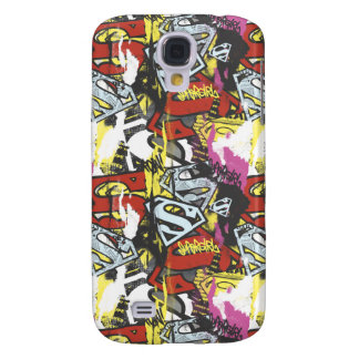 Supergirl Comic Capers Pattern 7 Galaxy S4 Case