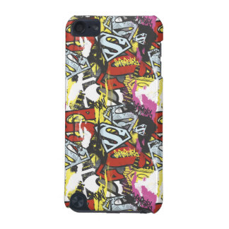 Supergirl Comic Capers Pattern 7 iPod Touch 5G Cover