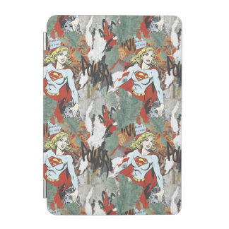 Supergirl Comic Capers Pattern 8 iPad Mini Cover