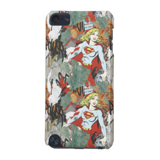Supergirl Comic Capers Pattern 8 iPod Touch 5G Case