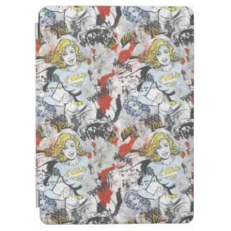 Supergirl Comic Capers Pattern 9 iPad Air Cover