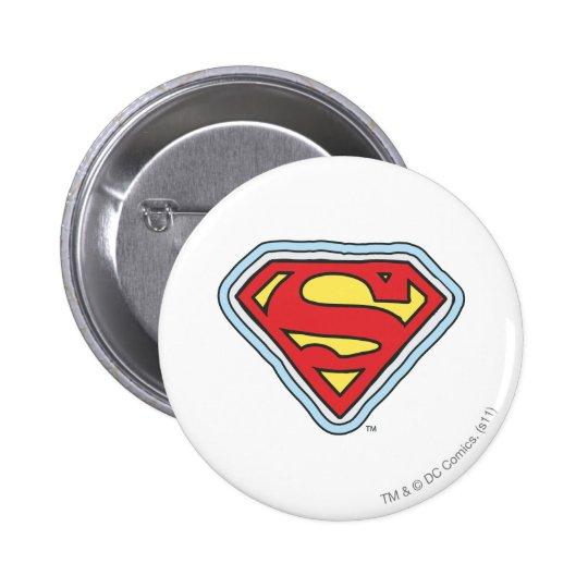 Supergirl Comic Logo 6 Cm Round Badge